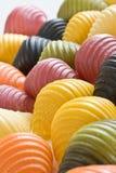 Multi gekleurde deegwarenshells Stock Afbeeldingen