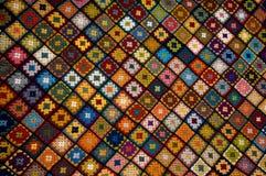 Multi gekleurde deken Stock Foto's