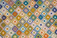 Multi gekleurde deken Royalty-vrije Stock Afbeeldingen