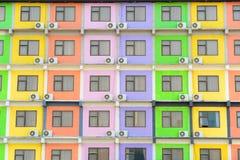 Multi Gekleurde Flat stock foto's