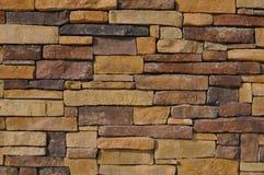 Multi Gekleurde Gele Steen Stock Foto