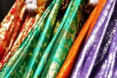 Multi gekleurde luifels Stock Afbeeldingen