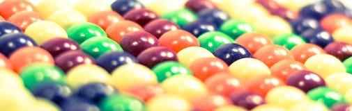 Multi gekleurde pillen of bellenachtergrond dicht omhoog Royalty-vrije Stock Afbeelding