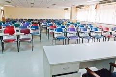 Multi gekleurde stoelen Stock Foto's