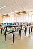 Multi gekleurde stoelen Royalty-vrije Stock Foto's