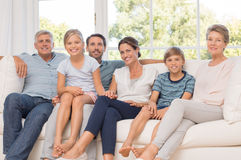 Multi generation family royalty free stock image