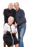 Multi-generation family Stock Image