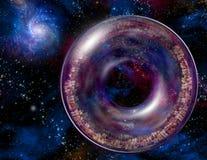 Multi-Generations-A interstellare Lieferung Lizenzfreie Stockfotos