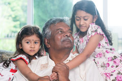 Multi generations love Royalty Free Stock Images