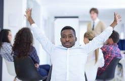 Multi gente di affari etnica, imprenditore, affare, concetto di piccola impresa Immagine Stock