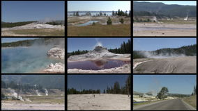 Multi Geyser Stock Photos