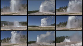 Multi Geyser Royalty Free Stock Images