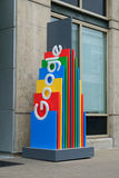Multi Google colorido assina Imagem de Stock