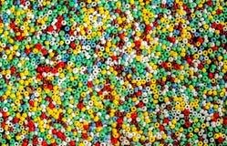 Multi grânulos coloridos Fotos de Stock Royalty Free