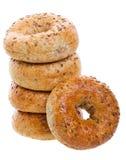 Multi-Grain Bagels Royalty Free Stock Image