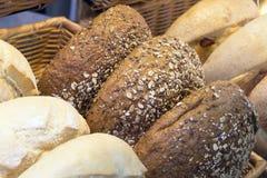 Multi Grain Bagels Closeup Royalty Free Stock Image