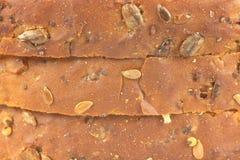 Multi-grain bread. Multi grain bread for background and texture Stock Photo