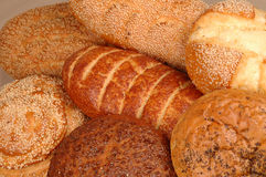 Multi grain Breads Stock Images