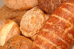 Multi grain Breads Royalty Free Stock Photo