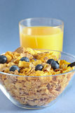 Multi grain cereal with blueberry 3 Stock Photos