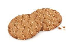Multi Grain Crisp Bread Royalty Free Stock Photography