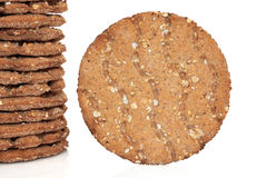 Multi Grain Crisp Bread Royalty Free Stock Photo