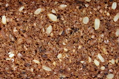 Multi grain dark bread Stock Photo