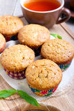 Multi grain muffins Royalty Free Stock Image
