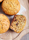 Multi grain muffins Royalty Free Stock Photo