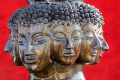 Multi headed buddha Stock Photos