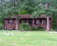 Multi HOME do tijolo da cor Imagens de Stock Royalty Free