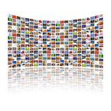 Multi indicador dos media Imagem de Stock Royalty Free