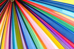Multi klares Farbengewebe Lizenzfreies Stockfoto