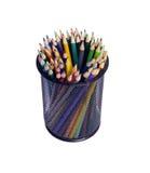 Multi kleurenpotloden Stock Afbeelding
