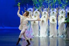 Multi Kraft-D Prinz Wavelet fungieren zuerst: das Maulbeergarten-episches Tanzdrama ` Silk Prinzessin ` stockfoto