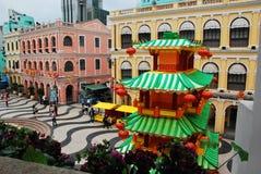 Multi kulturelles Gebäude Lizenzfreie Stockfotos