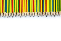Multi lápis coloridos Fotografia de Stock Royalty Free