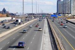 Multi-lane highway Stock Image