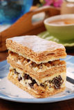 Multi-layer biscuit Royalty Free Stock Photo