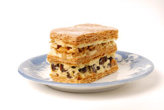 Multi-layer biscuit Stock Photo