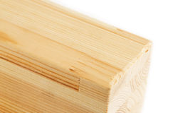 Multi-layer wooden beams. Multi-layer wooden beam on a white background Stock Image