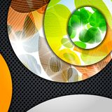 Multi layered abstract background with the theme Royalty Free Stock Photos