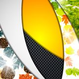 Multi layered abstract background with the theme Stock Images