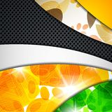 Multi layered abstract background with the theme Royalty Free Stock Photo