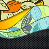 Multi layered abstract background with the theme Royalty Free Stock Images