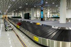 Multi Level Baggage Carousel stock photo