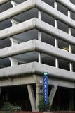 Multi-Level Car Park. A Multi-Level Car Park Royalty Free Stock Images