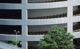 Multi Level Carpark Singapore Royalty Free Stock Photo
