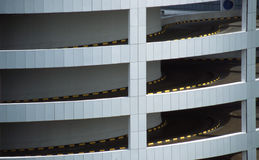 Multi Level Carpark Singapore Stock Image
