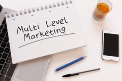 Multi Level Marketing Royalty Free Stock Photography